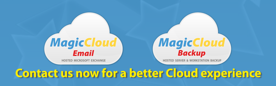 MagicCloud Hosted Solutions - Backup and Email